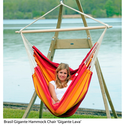 Brasil Gigante Hammock Chair  1 hammock chair (cafe)