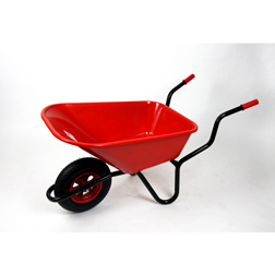 Bullbarrow Bronco Wheelbarrow  1 wheelbarrow (red)