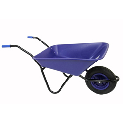 Bullbarrow Buffalo Wheelbarrow  1 wheelbarrow (blue)