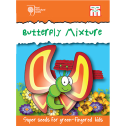 Butterfly Mix - RHS Garden Explorers Children's Seeds - 1 packet (1 gram)
