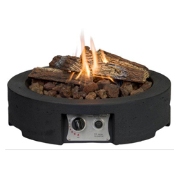Fire Pit Table Top  1 round table top (black)