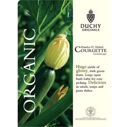 Courgette Dundoo F1 - Duchy Originals Organic Seeds - 1 packet (5 seeds)