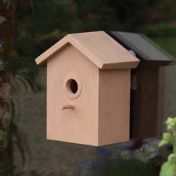 Easy View Bird Houses 1 x 2 bird houses