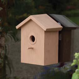 Easy View Bird Houses  1 x 2 bird houses