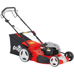 Grizzly Tools BRM56BSA Petrol Lawn Mower  1 x Grizzly Tools BRM56BSA Lawn Mower