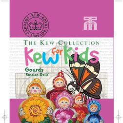 Gourd 'Russian Dolls' - Kew for Kids Children's Seeds - 1 packet (10 seeds)