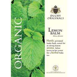 Lemon Balm - Duchy Originals Organic Seeds - 1 packet (250 seeds)