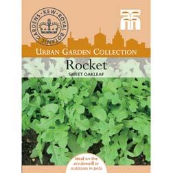 Rocket 'Sweet Oakleaf' - Kew Collection Seeds - 1 packet