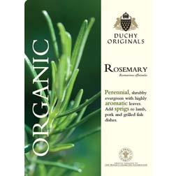Rosemary - Duchy Originals Organic Seeds - 1 packet (50 seeds)