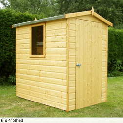 Shire HiSpec Apex Shed  1 shed (7 x 5)