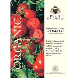 Tomato 'Falcorosso' F1 Hybrid - Duchy Originals Organic Seeds - 1 packet (6 seeds)