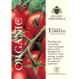 Tomato 'Moneymaker' - Duchy Originals Organic Seeds - 1 packet (30 seeds)