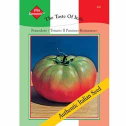 Tomato 'Il Pantano Romanesco' - Vita Sementi® Italian Seeds - 1 packet (300 seeds)