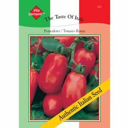 Tomato 'Roma Nano' - Vita Sementi® Italian Seeds - 1 packet (450 seeds)