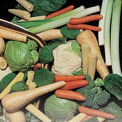 Mini Vegetable Collections A & B - collections a & b - 12 packets - 1 of each variety